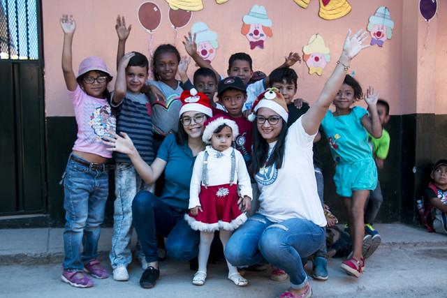 Celebramos la navidad en la Aldea Suyapa