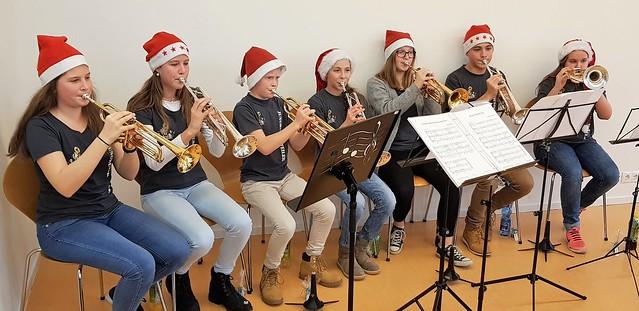 Trompeten-Ensemble – musikalische Gestaltung der Adventsfeiern