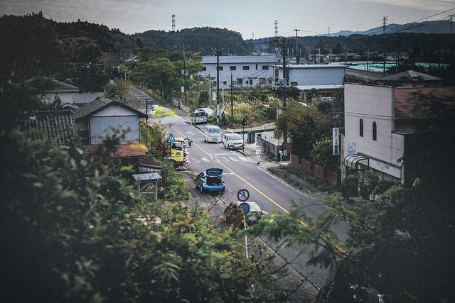 "Nov. 07. 2018  ""工事現場 / Road works""  Futaba, Fukushima(撮影:東間嶺)"