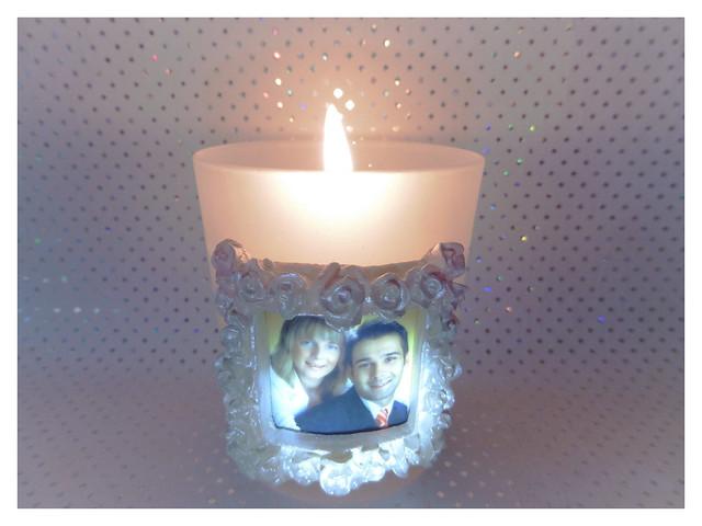 Wedding candle, Panasonic DMC-TZ56