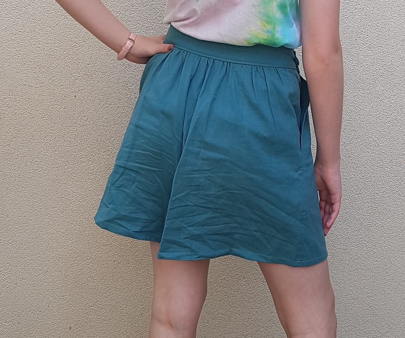 Vintage Style 4728 shorts in double gauze from Clear It