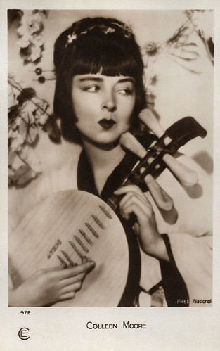 Colleen Moore as Madame Butterfly.