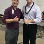 Hawaii State CTE Educational Specialist Troy Sueoka & Paul - Honolulu, Hawaii