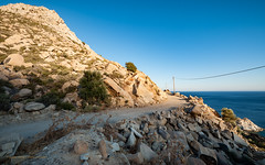 Ikaria/Ικαρία - On the road between Karkinagri and Trapalou