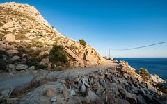 Ikaria/Ικαρία - On the road between Karkinagri and Trapalou
