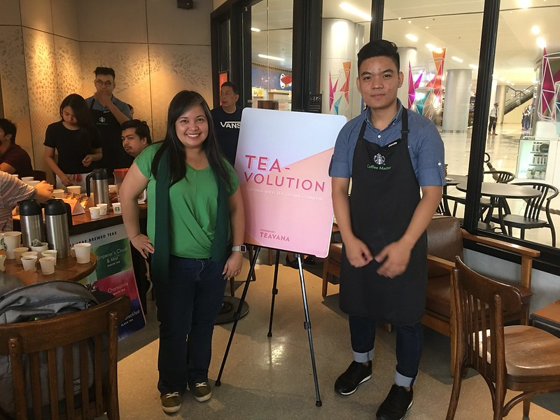 TEA-volution, Starbucks SM East