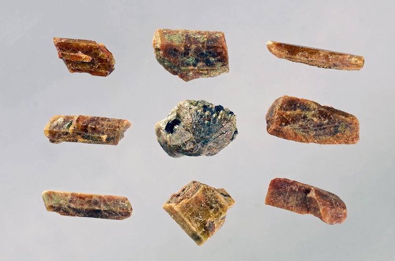 ゼノタイム&モナズ石 / Xenotime-(Y) & Monazite-(Ce)