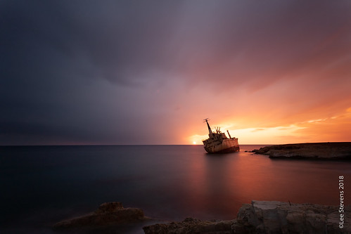 canon 5d landscape sunset cyprus camera pafos paphos mediterraneansea longexposure sea seascape calmsea sky canonef1740 wideangle ultrawideangle