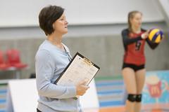 Winnipeg coach Diane Scott (Nov 17, 2018 Snucins)