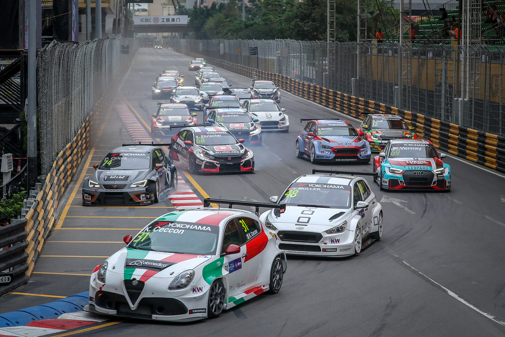 31 CECCON Kevin  (ITA), Mulsanne Srl, Alfa Romeo Giulietta TCR, action during the 2018 FIA WTCR World Touring Car cup of Macau, Circuito da Guia, from november  15 to 18 - Photo Alexandre Guillaumot / DPPI