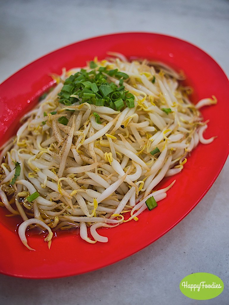 Plumper beansprouts of Ipoh