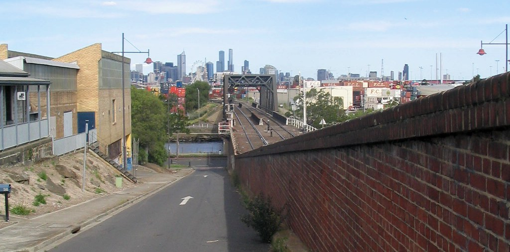 Bunbury Street tunnel, looking towards the City, December 2008