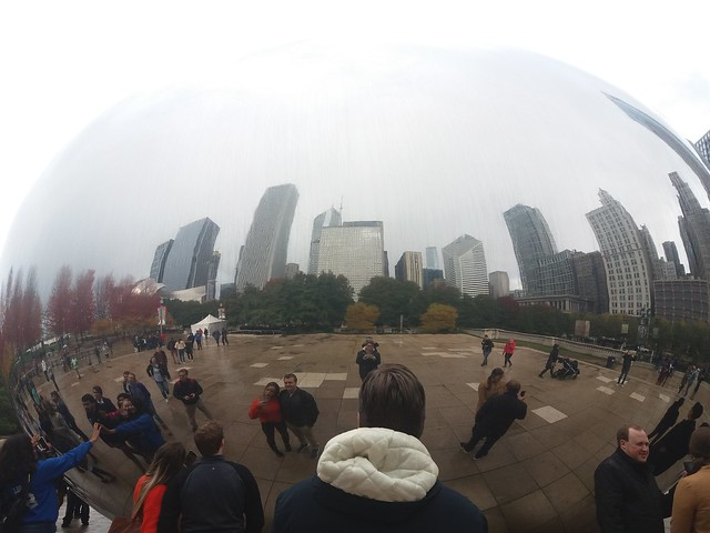 Chicago - Reflection in the Bean