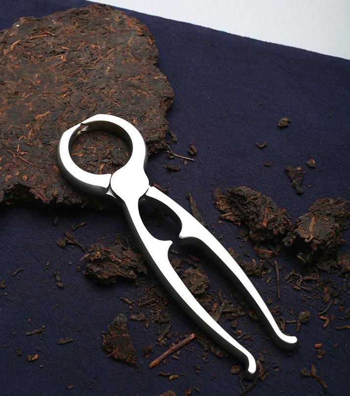 Stainless Steel Tight Tea Pincers Pliers for Breaking Puerh Tea Cake Brick Tuo Dark Tea Teawares Teatools