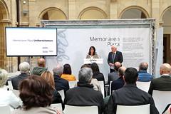 05/11/2018 - Inauguración de la exposición Plaza de la Memoria