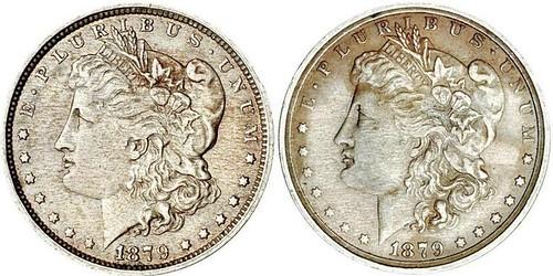 John Pinches Two-Headed Morgan dollar