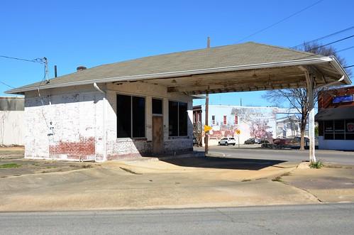 Alabama, Dothan, Former Standard Oil Gas Station