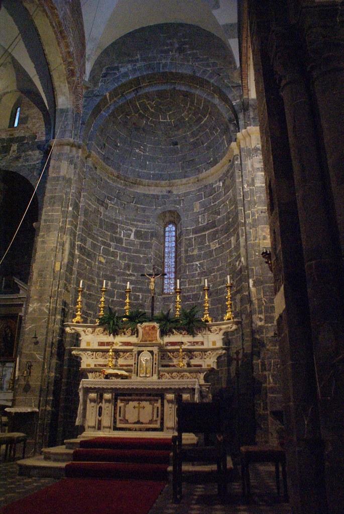 Autel de l'égliseSanti Cosma e Damiano à Gènes