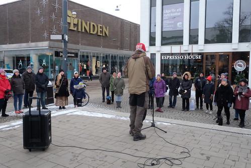 Manifestation med ett Norrköping för alla