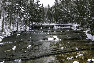 overview of Au Train Falls