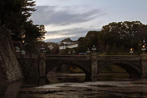 Seimon Ironbridge, Imperial palace Tokyo