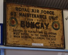 Bungay gate sign
