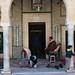 Kairouan – tzv. Lazebníkova mešita, do těchto dveří již nevěřící nesmí vstoupit, foto: Petr Nejedlý
