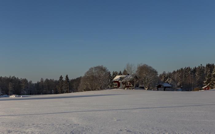 Lähiseutumatkailu talvi maaseutu_