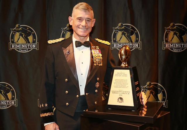 Lt. Gen. Caslen receives 2018 Gerald R. Ford Legends Award