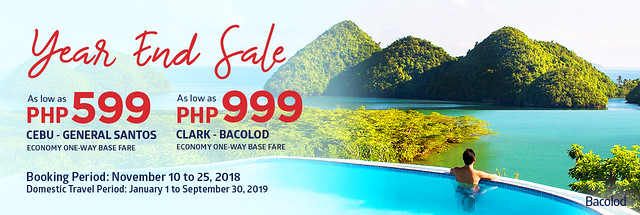 Philippine Airlines Year End Sale 2018 Domestic Flights