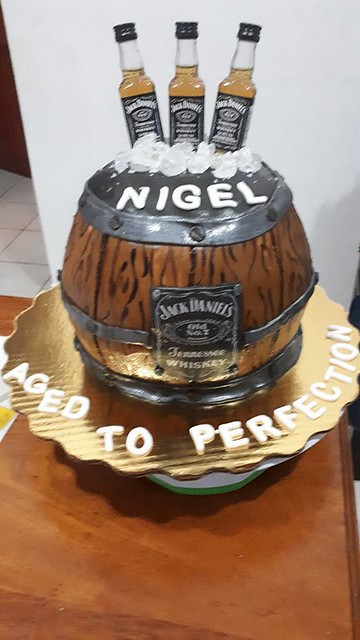 Barrel Cake by Betsy's Yummy Creations