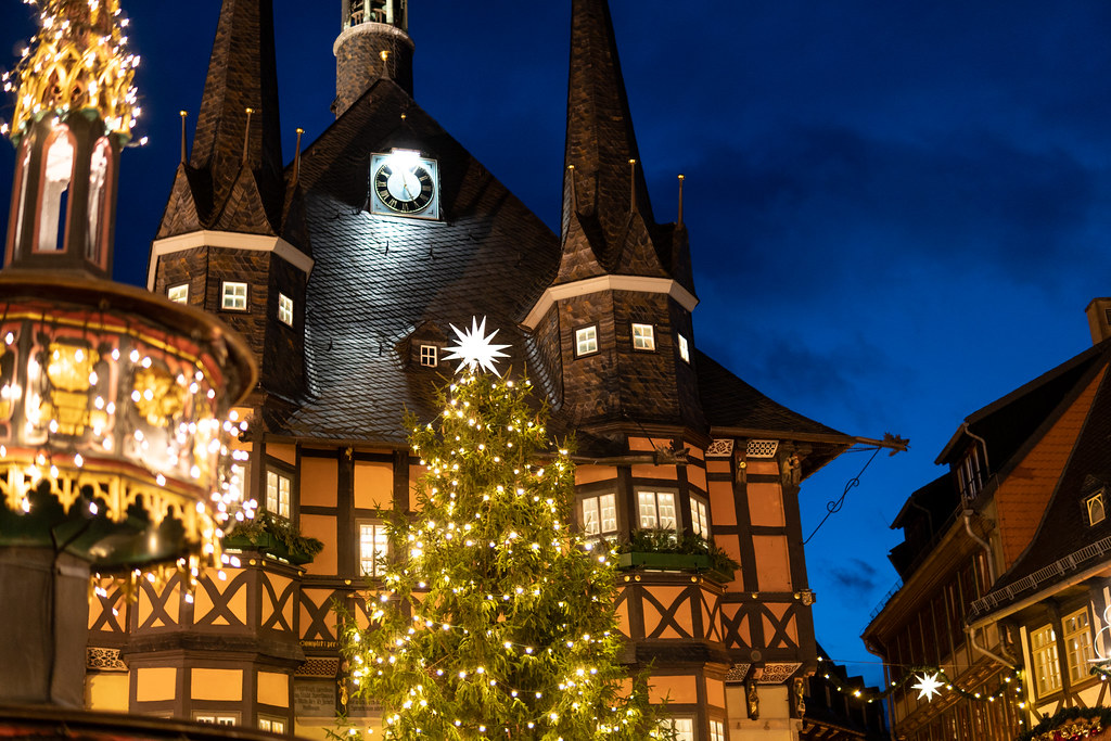 Wernigerode Weihnachtsmarkt.Weihnachtszeit Auf Dem Weihnachtsmarkt Wernigerode Flickr
