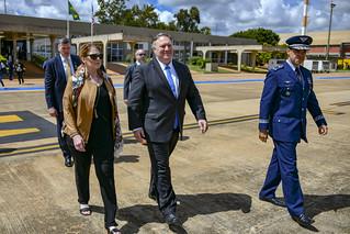 Secretary Pompeo Departs Brasilia, Brazil