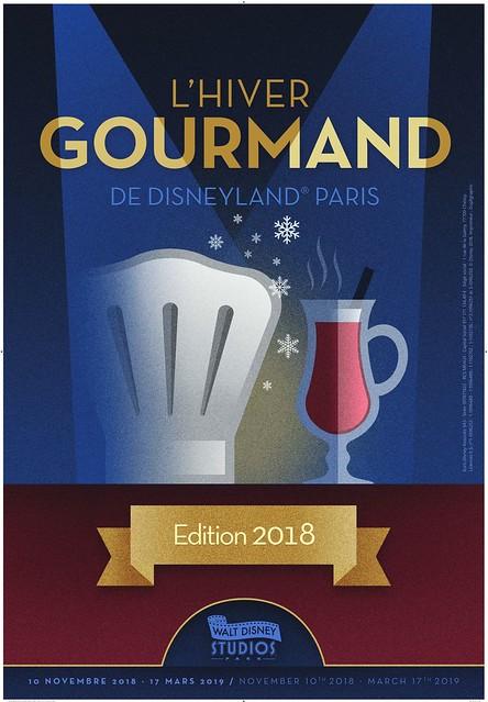 Nouveau : L'Hiver Gourmand de Disneyland Paris