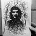 Che Guevara Original Drawing for Sale - Ben Heine Art by Ben Heine