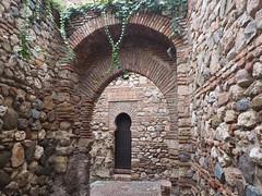 Alcazaba arches