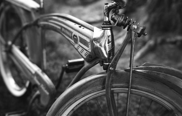 Vintage Bicycle - Kaysville, Utah. Camera: Leica M3 (1959). Film: Ferrania P30. Process: Kodak D76 (1+1) 13:00 Min @ 20°.