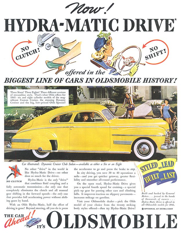 1940 Oldsmobile Dynamic Cruiser Club Sedan