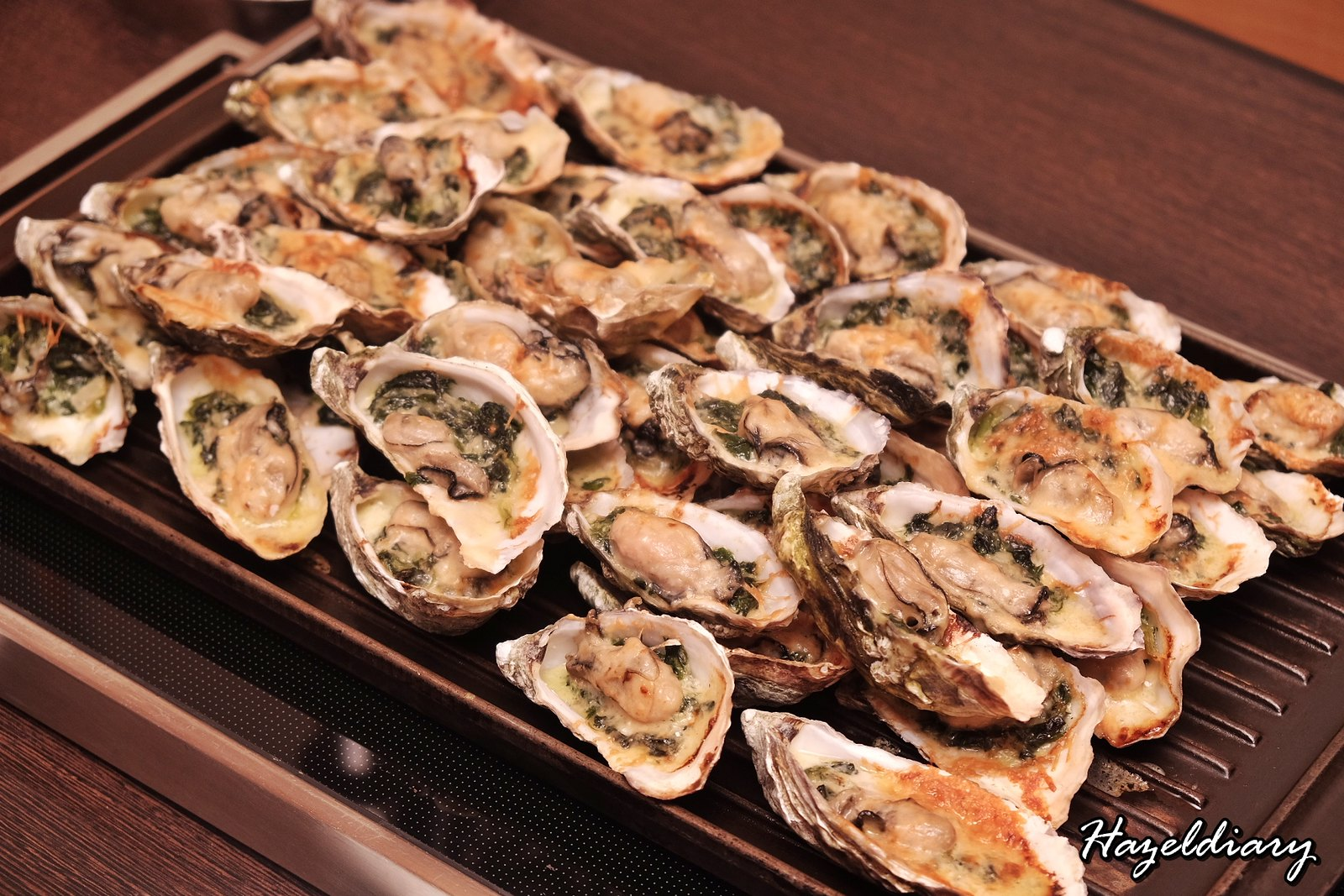 Singapore Marriott Tang Hotel-Christmas 2018-Oysters