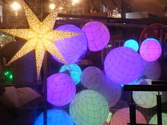 Christmas Market Stars And Balls Riga Dec 2018