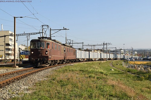 BLS Re 425 185 & 192 @ Lyss