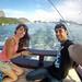 13. En barco frente a la bahía de Rio de Janeiro