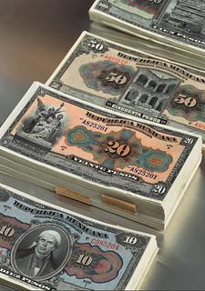 Valores de la nación banknotes