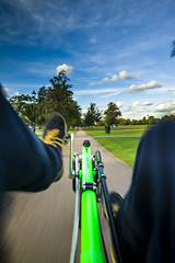 View from a Recumbent