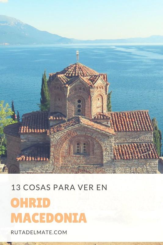 Que ver en Ohrid