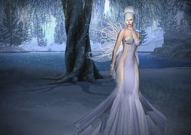 Fairy Winter Gown full