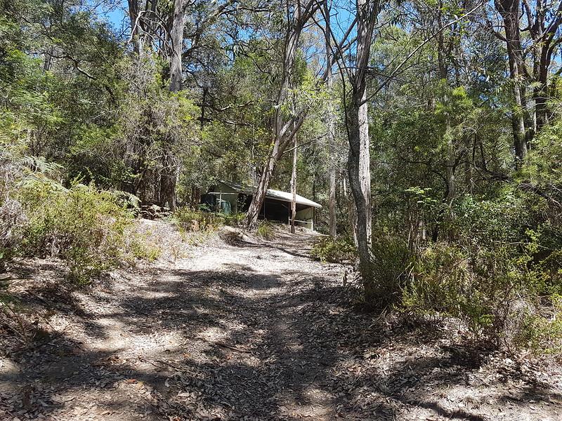Walking track to the Kangaroo River at Coolana - sydney bushwalkers property in the Kangaroo Valley