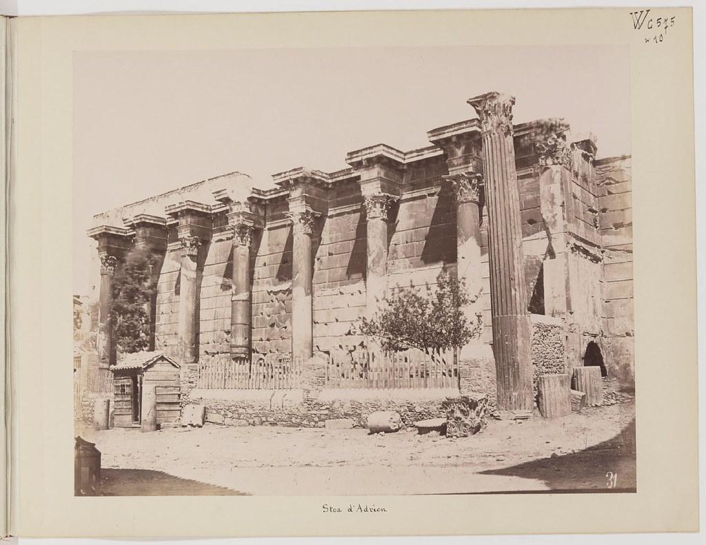 Альбом из 21 фото. из Афин и Пирея в 1880 году, подарок доктора Фювьера-17