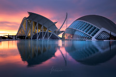 City of the Arts and Sciences Valencia city Spain