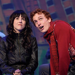 Elf - The Musical at the Arvada Center - Leslie Hiatt (Jovie) and Josh Houghton (Buddy) Matt Gale Photography 2018